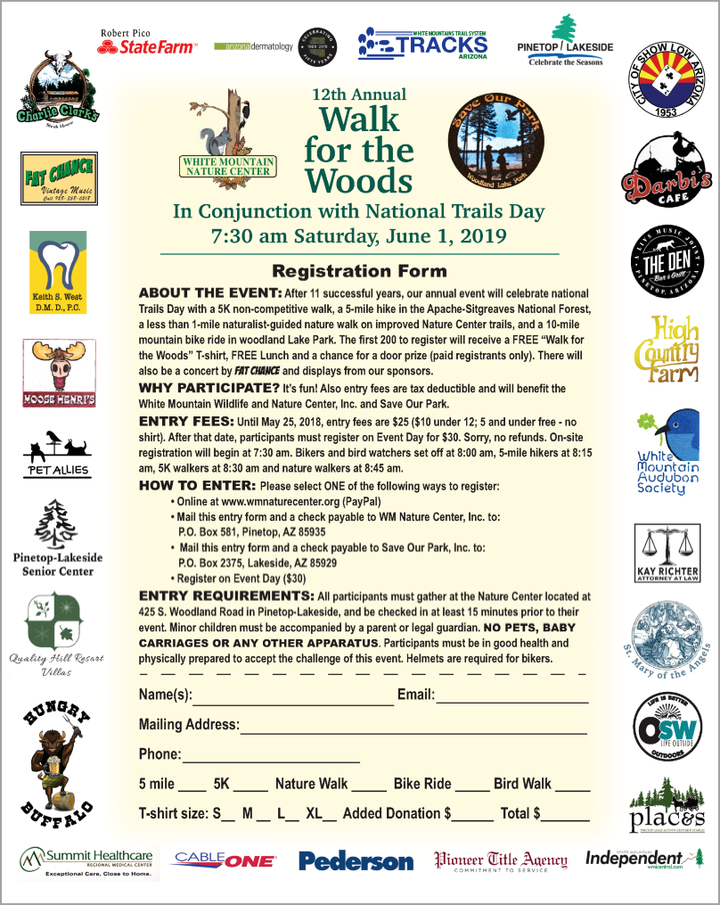 Walk for Woods 2019